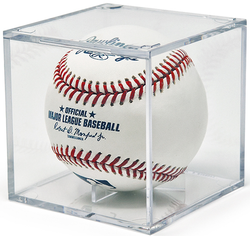 Baseball Display Case Designed To Perfectly Fit Official Mlb Baseball